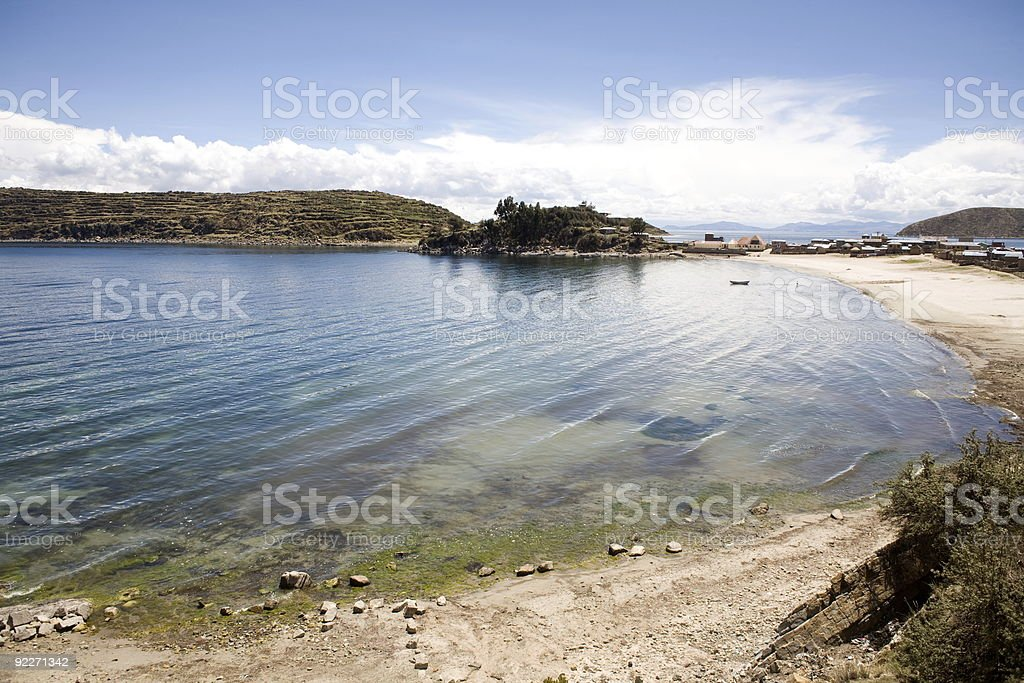 Isla del Sol - Titicaca royalty-free stock photo