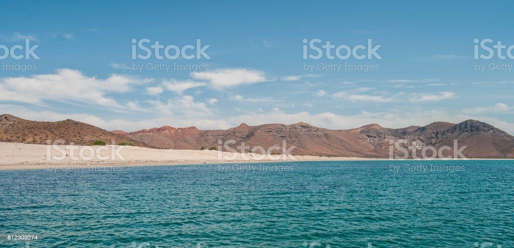 Isla espiritu santo. México - foto de stock