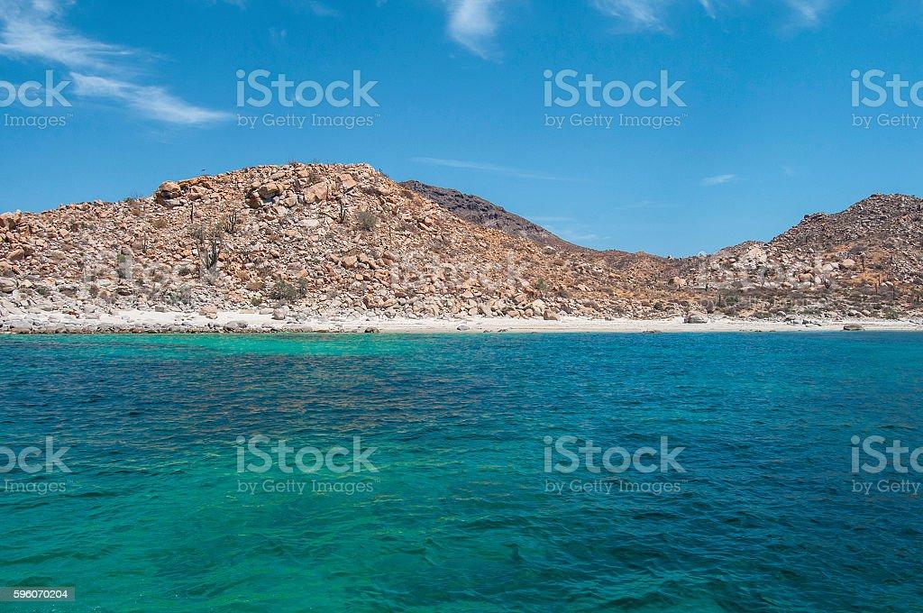 Isla Espiritu Santo royalty-free stock photo
