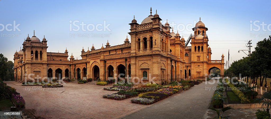 Islamia college Peshawar Pakistan stock photo