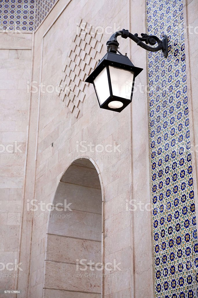 Islamic Architectural Detail in North Africa royalty-free stock photo
