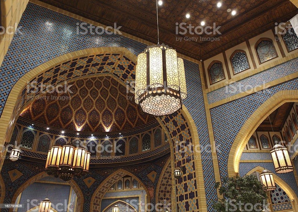 Islamic architectural XXL royalty-free stock photo
