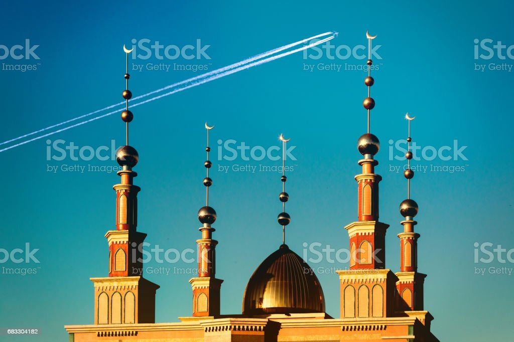 Islamic architecture foto stock royalty-free