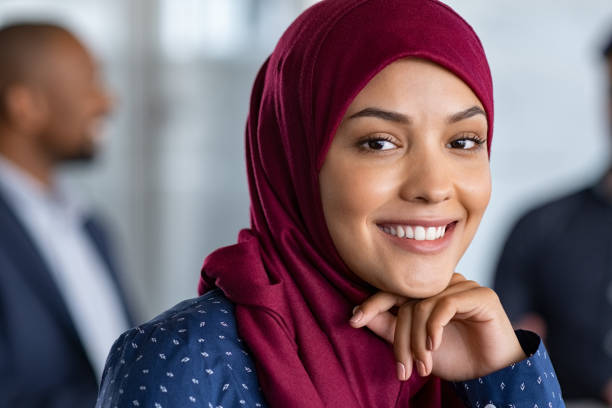 Hijab Women South Africa Islam Stock Photos, Pictures
