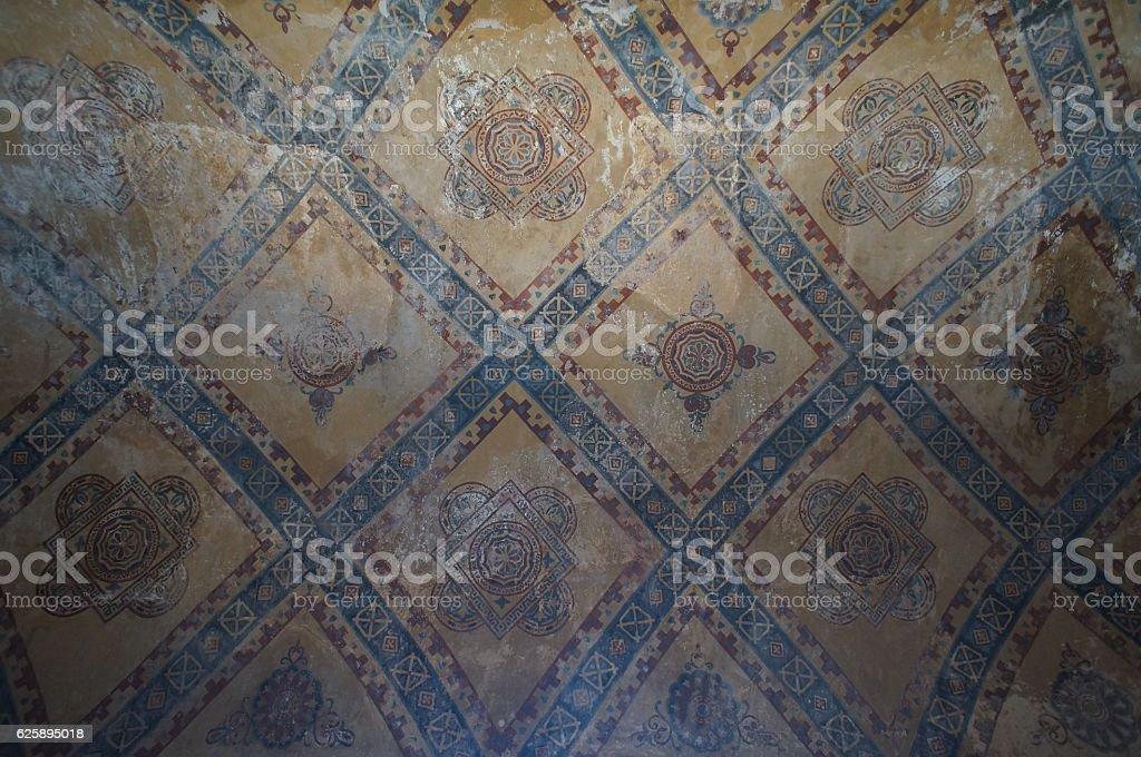 Islamic Decoration of Hagia Sofya, Istanbul Turkey stock photo