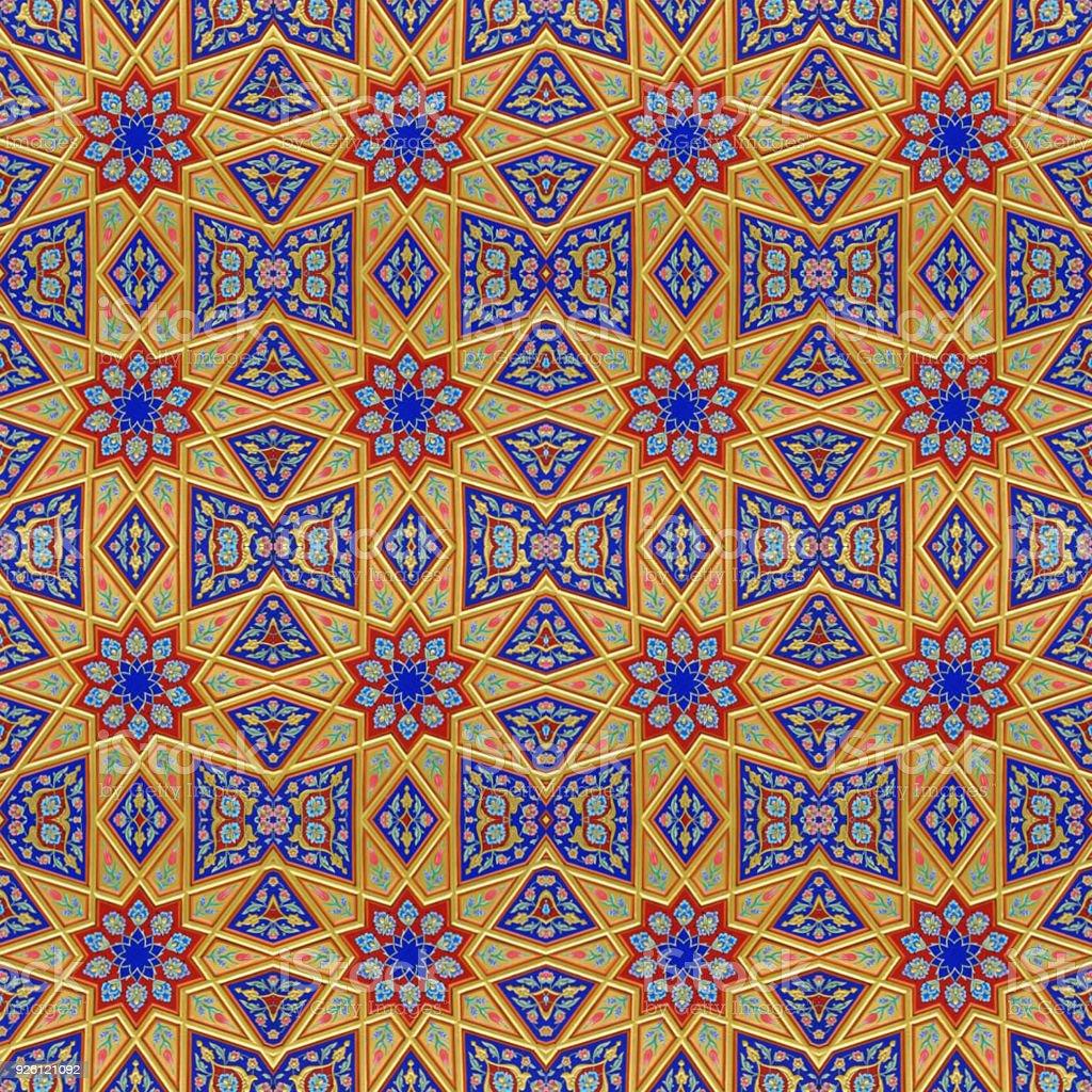 Design islâmico - foto de acervo