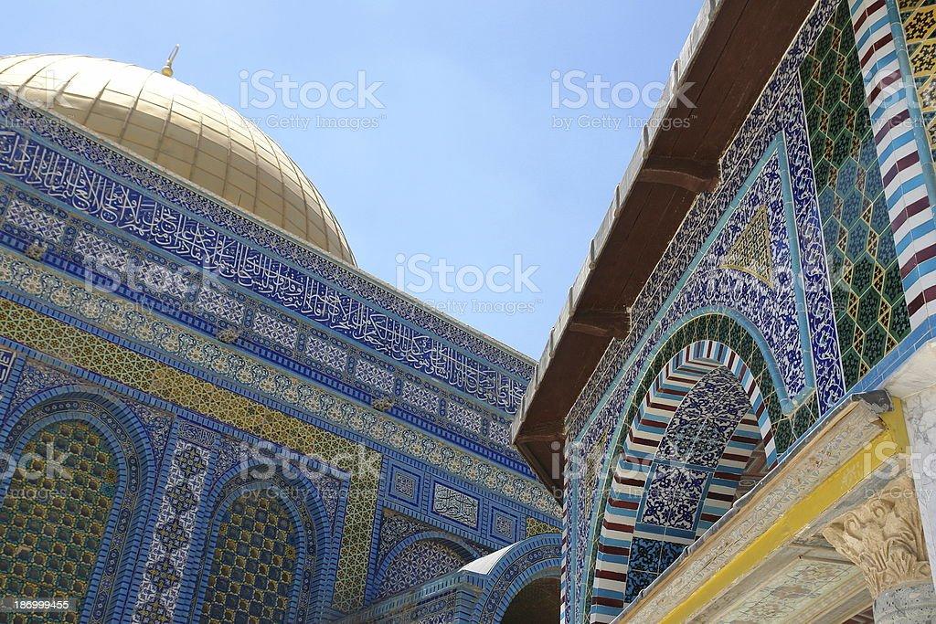 Islamic mosaic royalty-free stock photo
