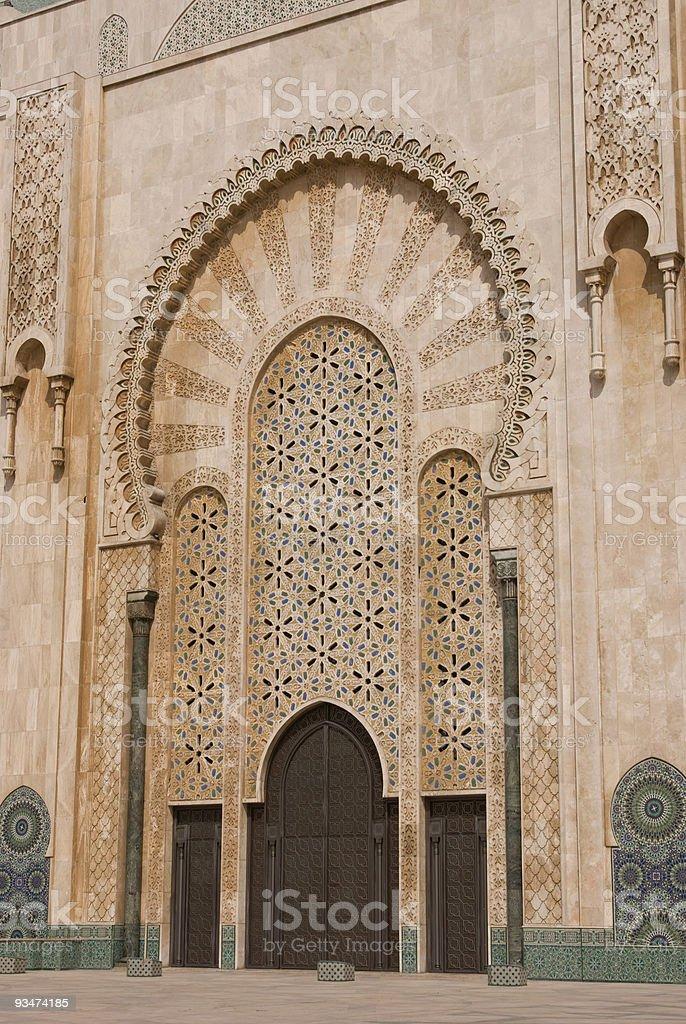 Mesquita islâmica portas - foto de acervo