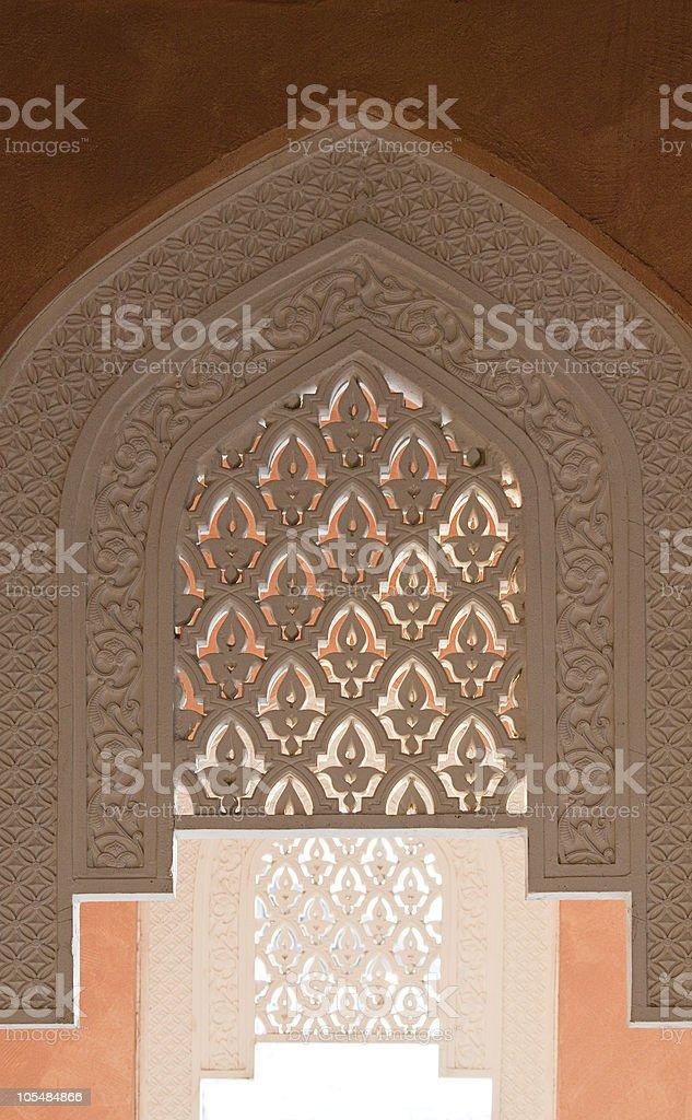 Islamic ornamentic stock photo