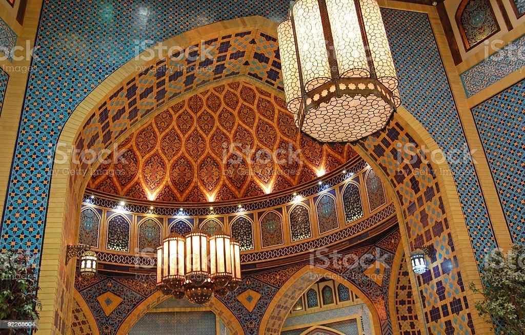 Islamic Place royalty-free stock photo