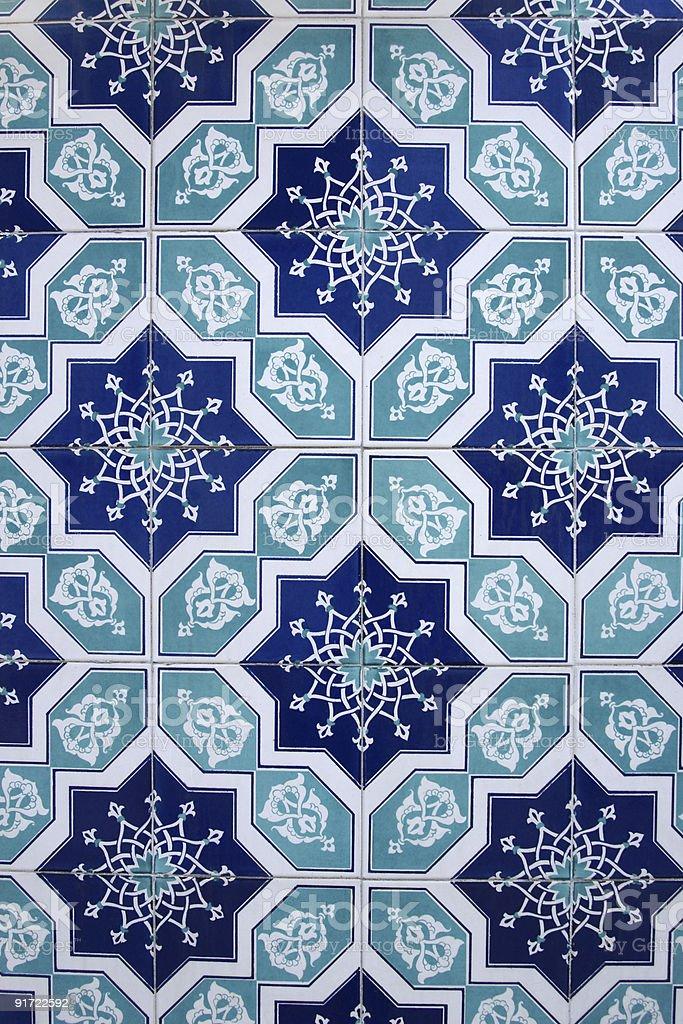 Islamic tiles - Royalty-free Ancient Stock Photo