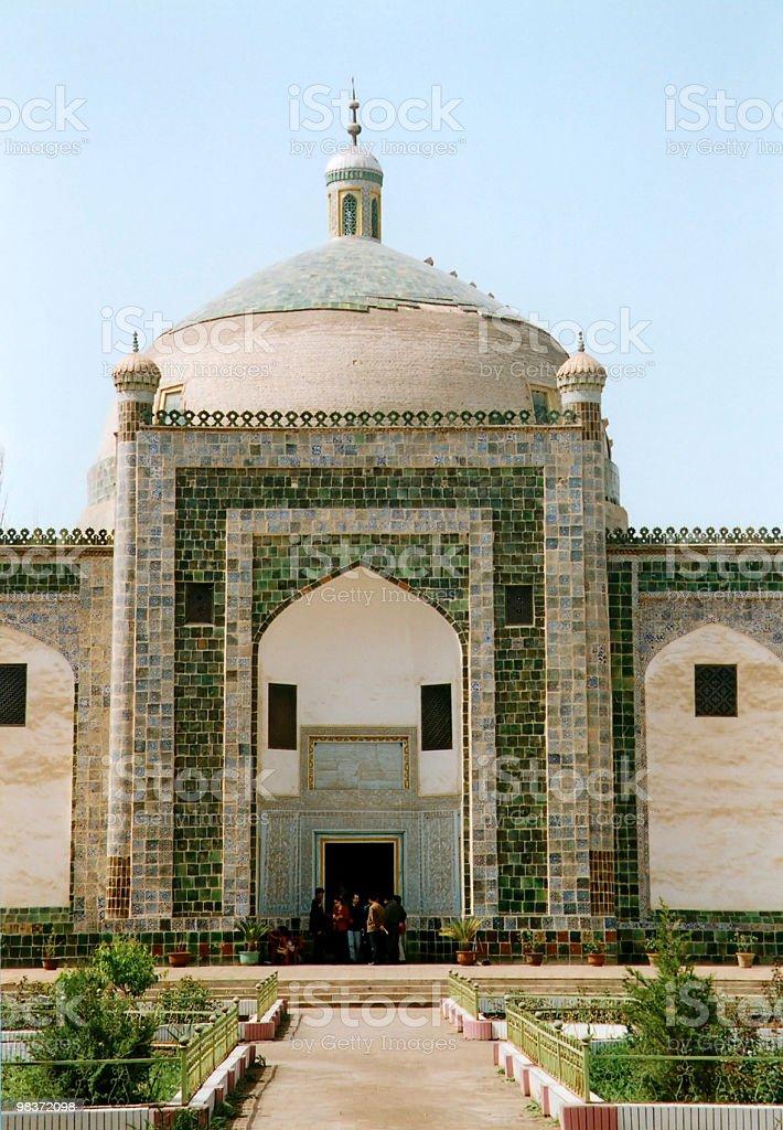 islamic tomb royalty-free stock photo