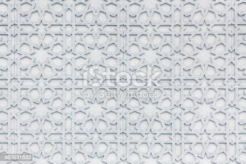 istock Islamic wall pattern 462631533