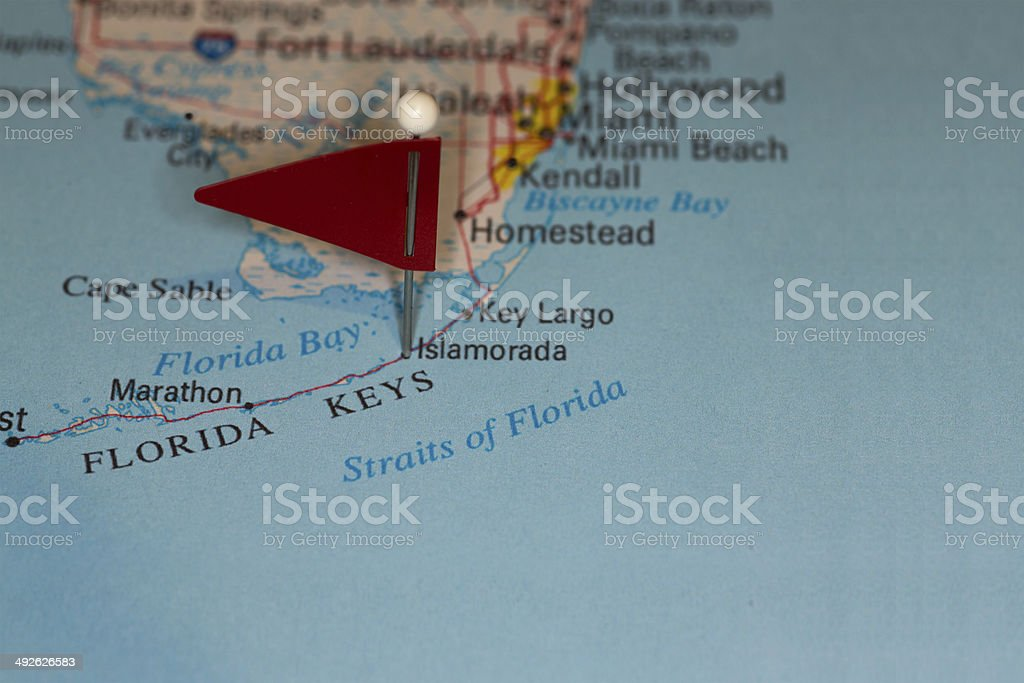 Largo Fl Elevation Map.Islamorada Fl Usa Cities On Map Series Stock Photo More Pictures