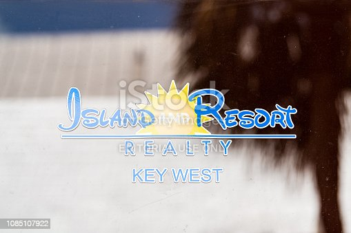 istock Island and Resort Realty brokerage, realtor in Florida keys island dealing with buying, selling real estate 1085107922