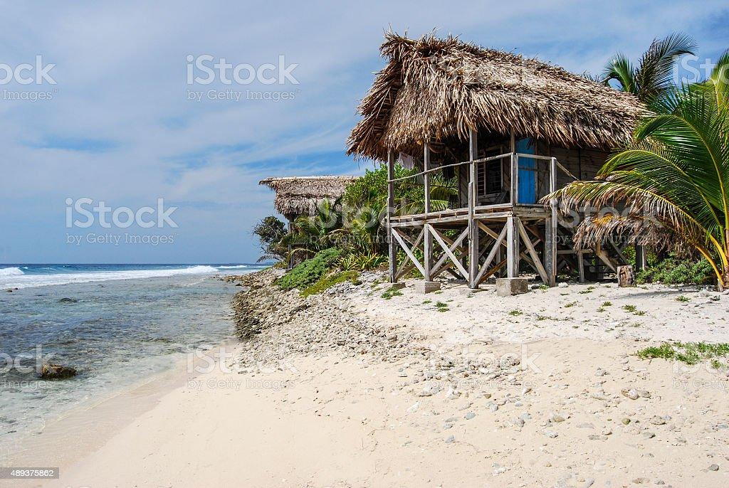 Tropical Island Beach Hut: Island Beach Hut Stock Photo & More Pictures Of 2015