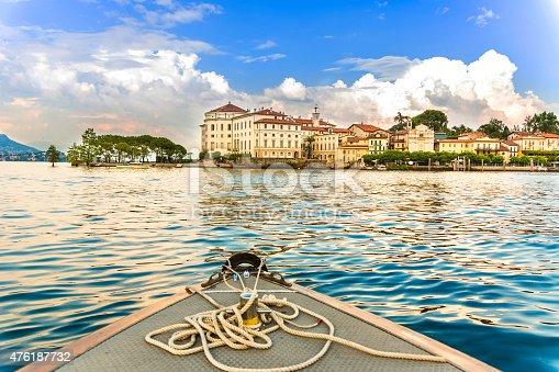 istock Island Bella Maggiore Lake 476187732