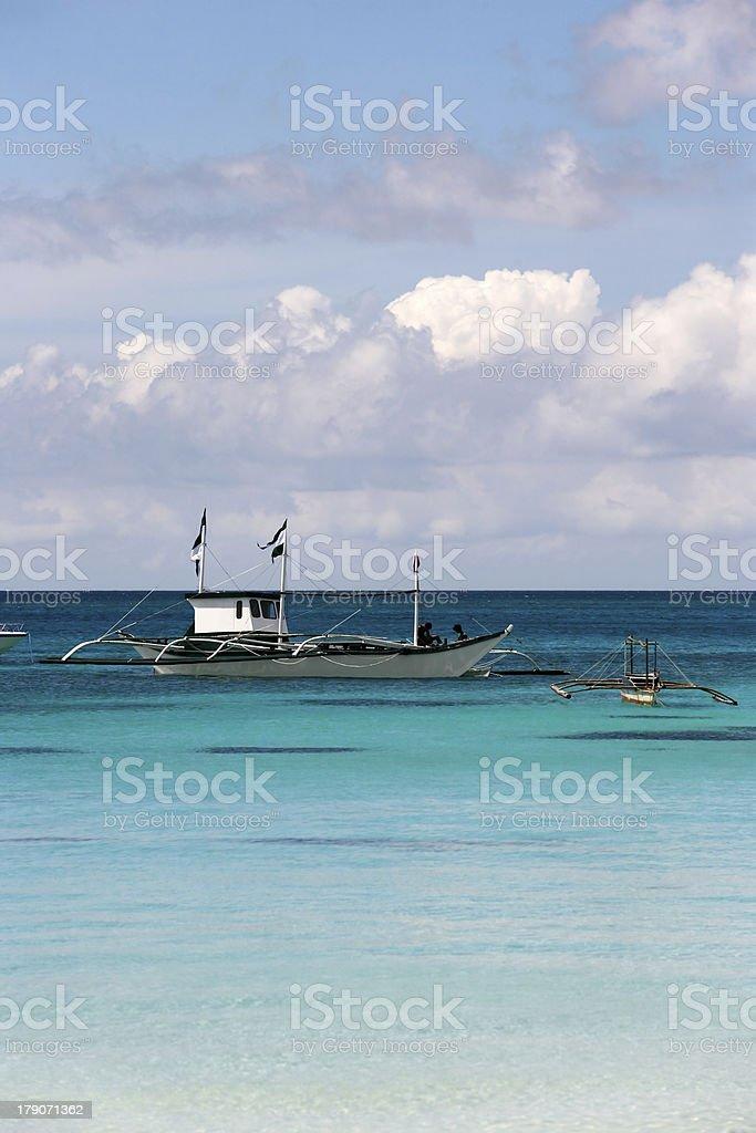 Island Boracay royalty-free stock photo