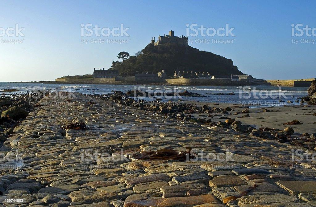 Island Castle royalty-free stock photo
