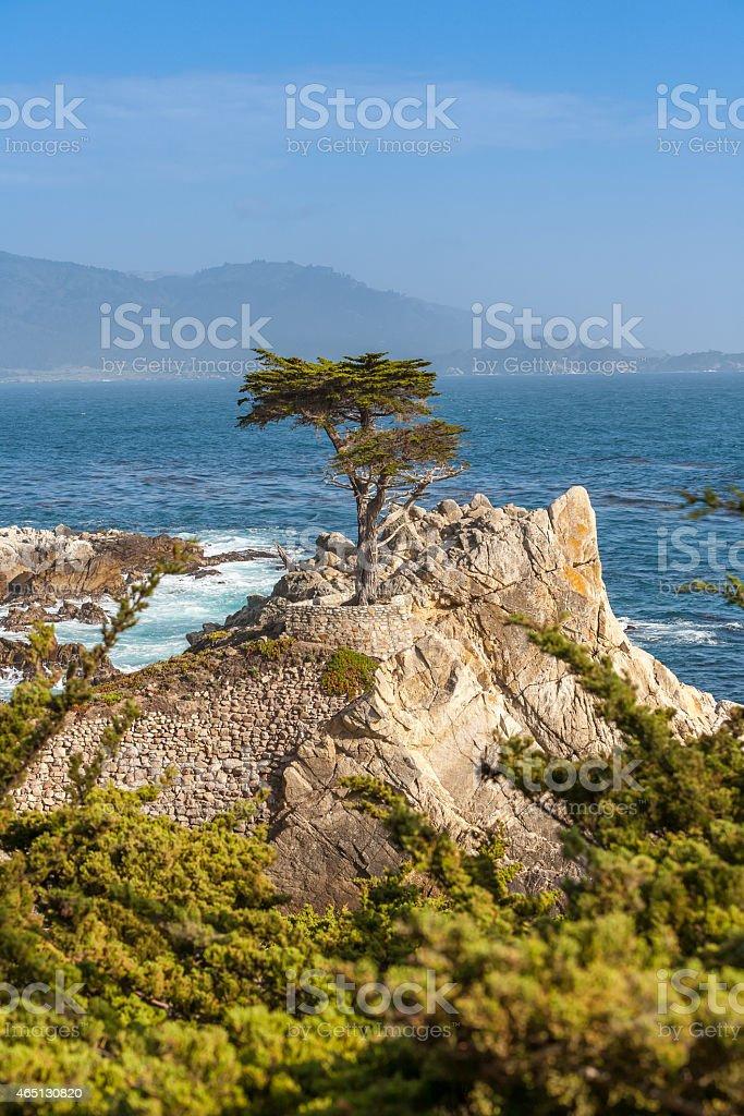 Island Coastline, Santa Cruz Island, California stock photo