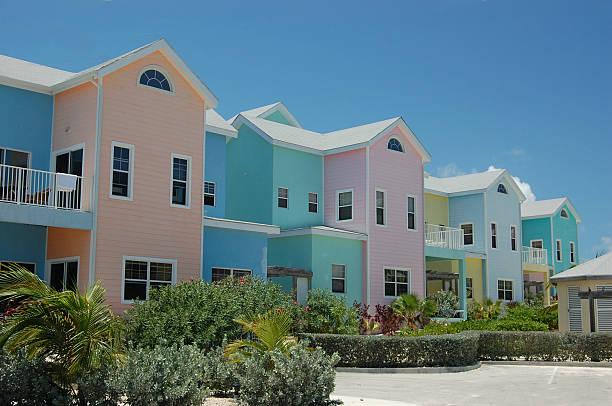 Island colors stock photo
