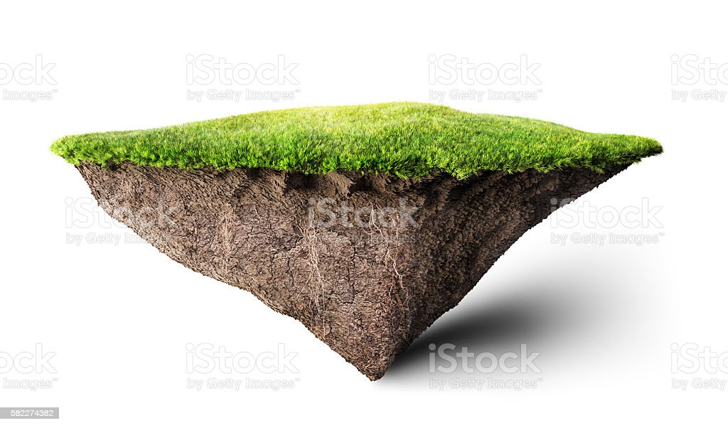 island floating stock photo