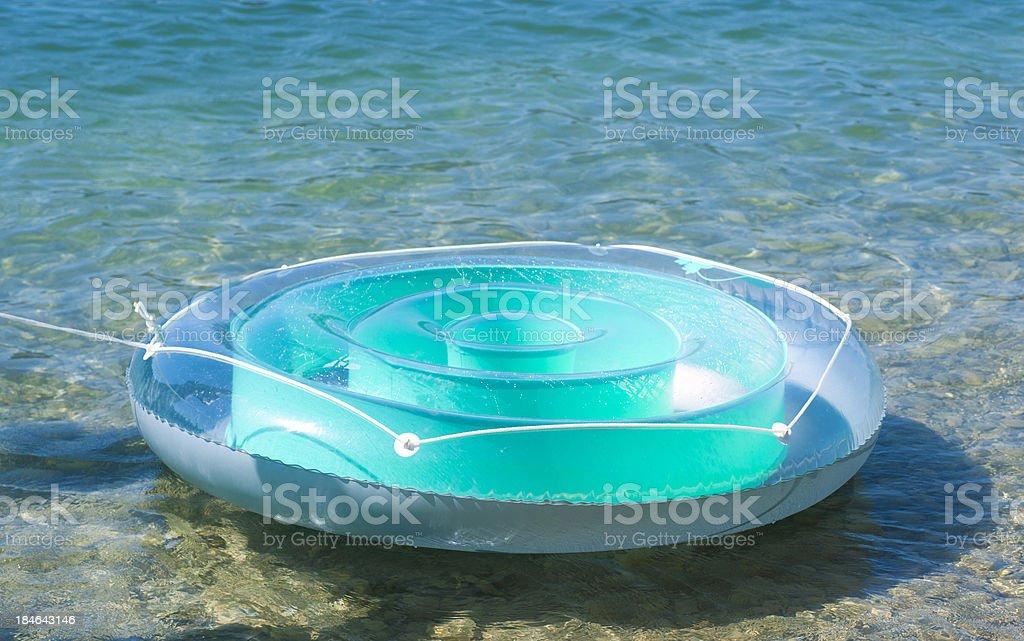 Swimming pool aufblasbar  Island For Bathing Badeinsel Aufblasbar stock photo   iStock