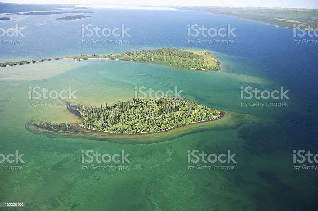 island from the sky stock photo