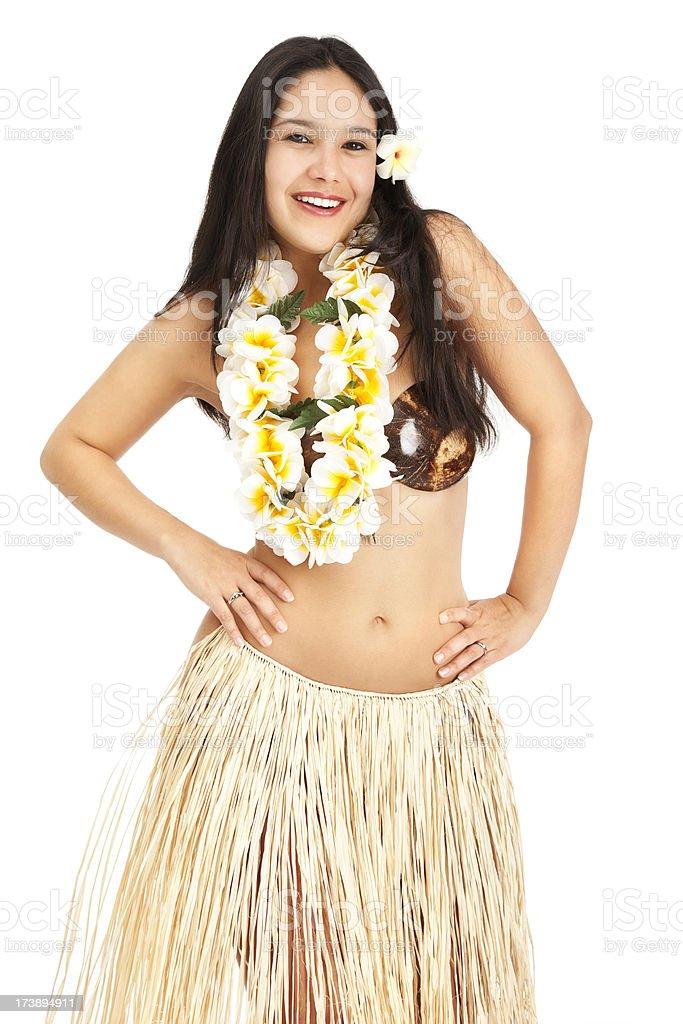 Island Girl royalty-free stock photo