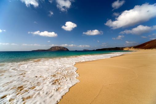 Island Graciosa, bay Las Conchas