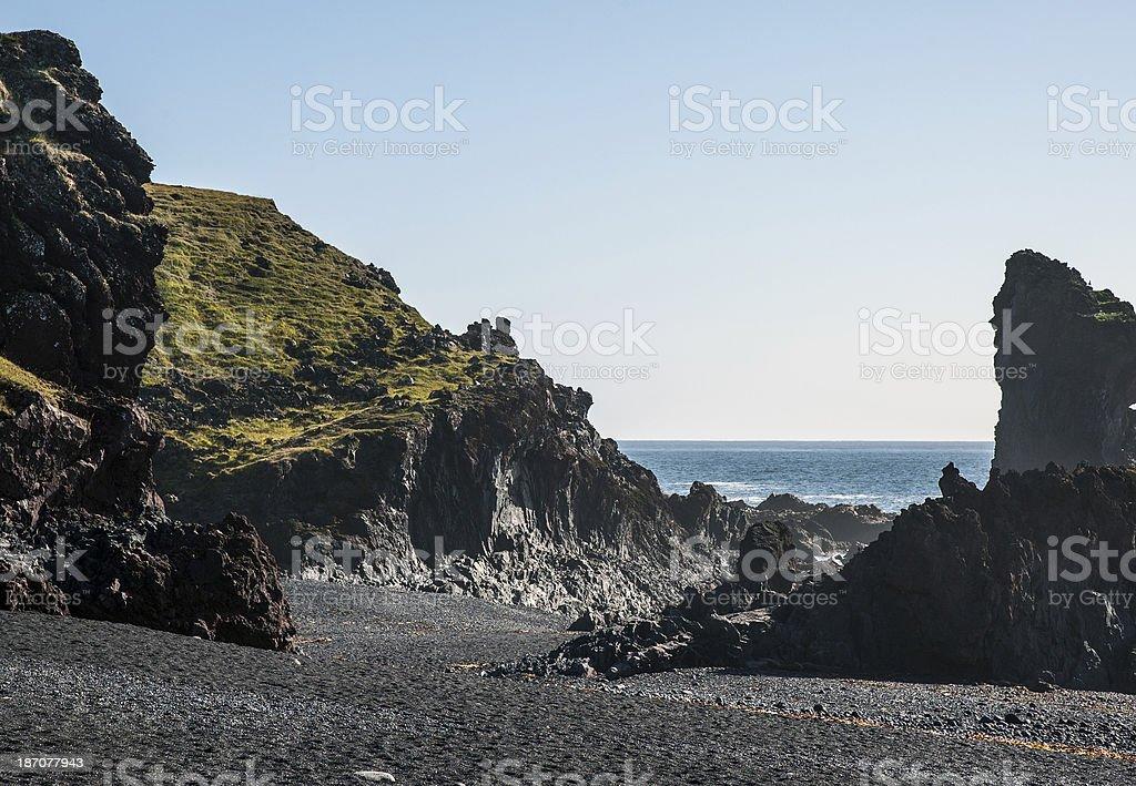Island - Halbinsel Snæfellsnes stock photo