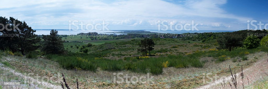 Island Hiddensee, Germany royalty-free stock photo