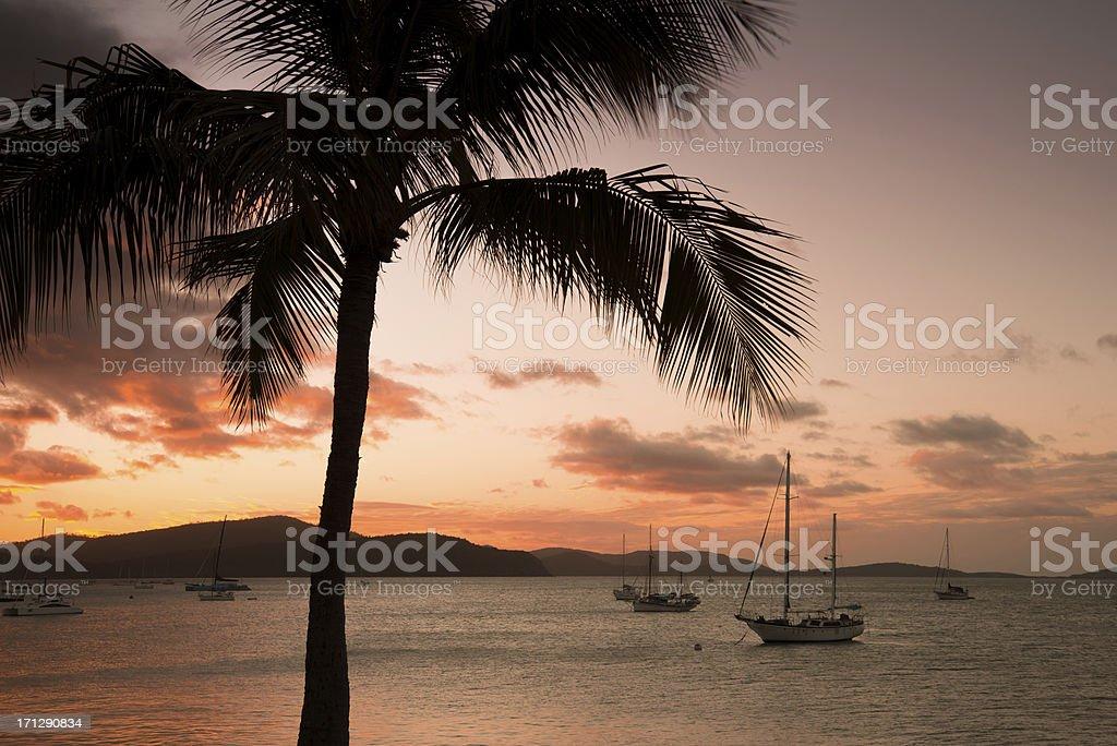 Island Holiday Calm stock photo