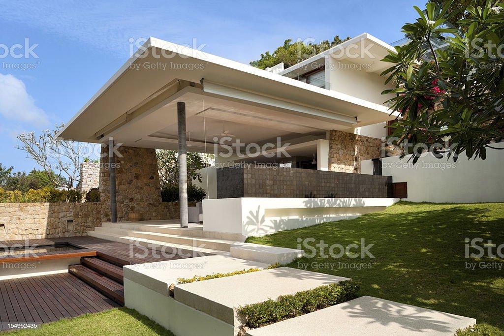 Island Home royalty-free stock photo