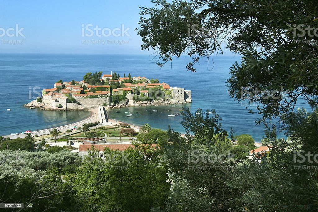 island in Mediterranean royalty-free stock photo