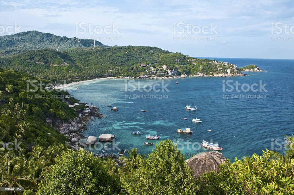 Island in southern Thailand. royalty-free stock photo