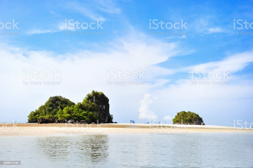 Island in Thailand stock photo