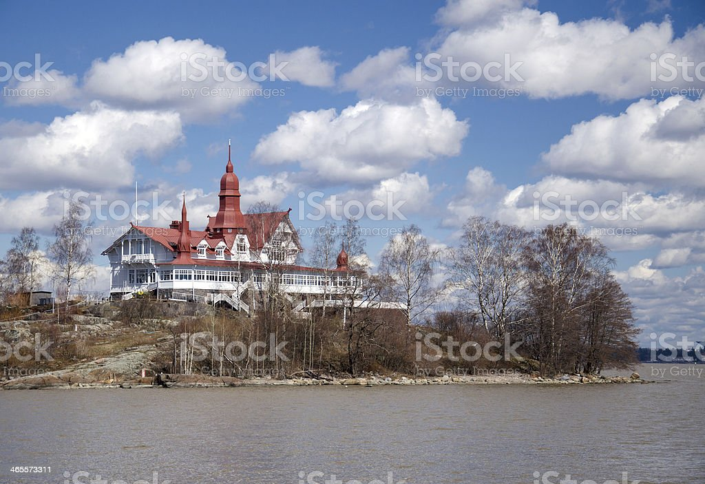 Island in the Baltic Sea royalty-free stock photo