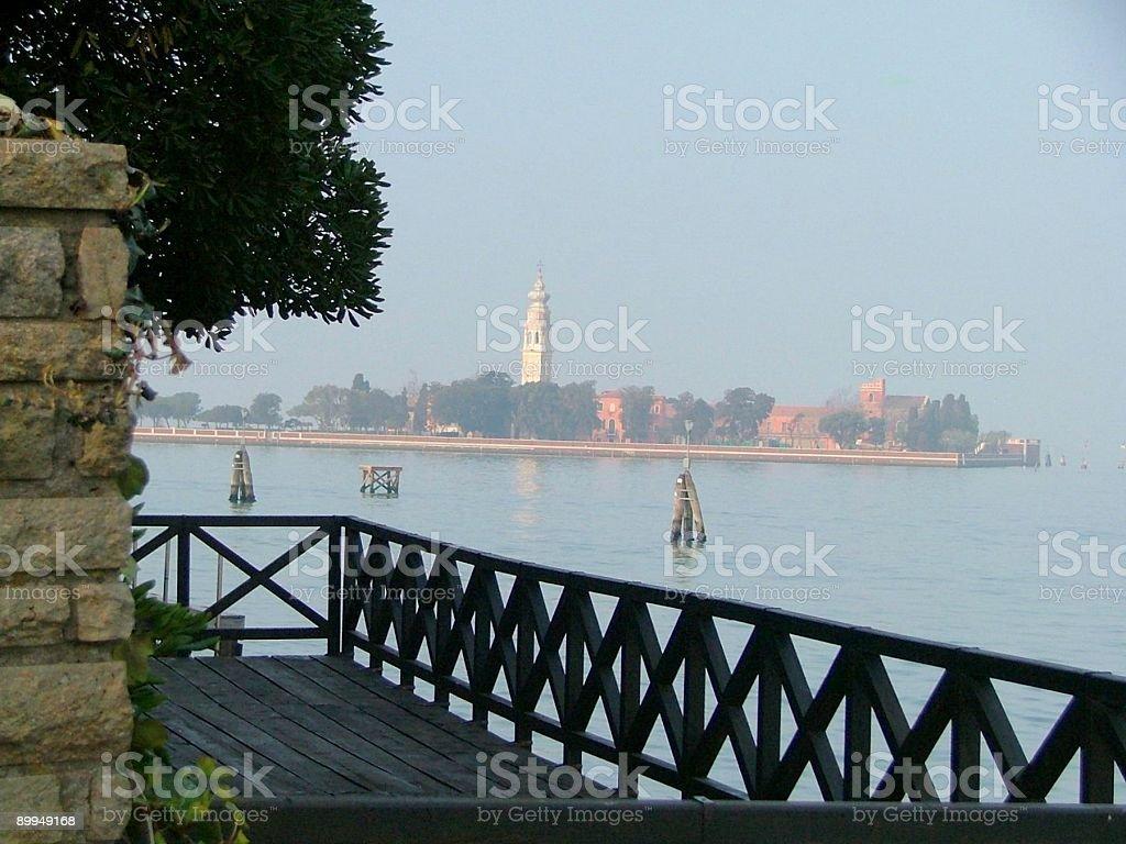Island in the Venice Lagoon royalty-free stock photo