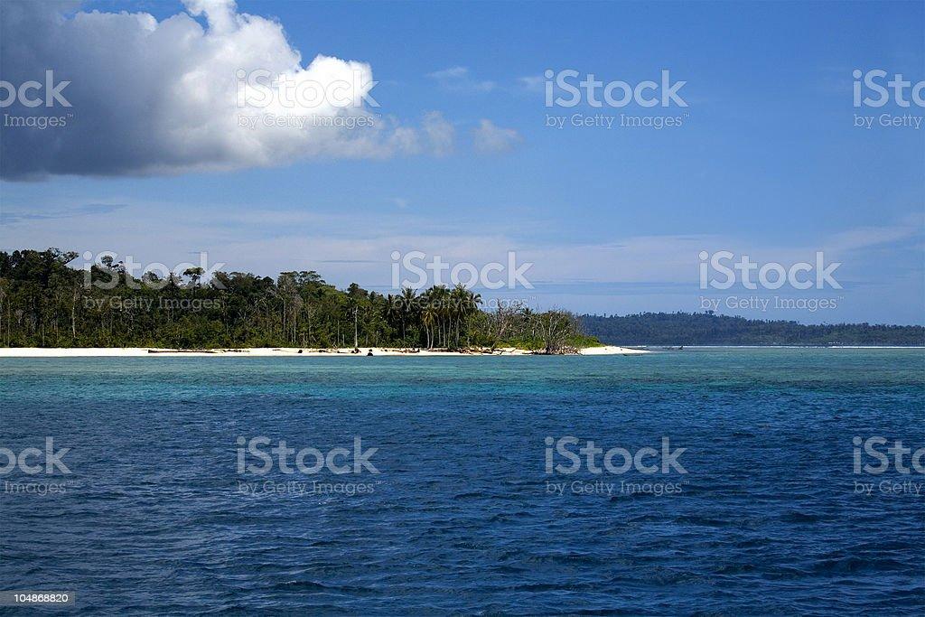island life stock photo