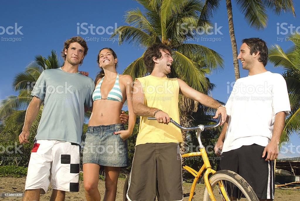 Island Lifestyle royalty-free stock photo