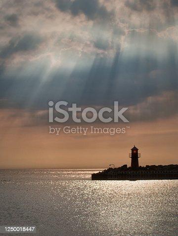 istock Island of Anholt in Kattegtt in Denmark 1250018447
