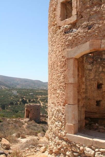 Island of Crete stock photo