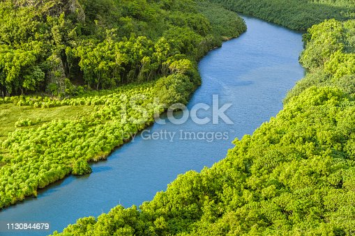 Wailua River Valley on Kauai