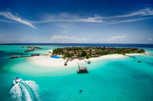 istock Island of Maldives 155139968