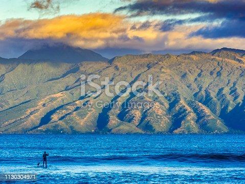 istock Island of Maui in Hawaii 1130304971