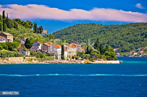 istock Island of Osljak archipelago view, Dalmatia, Croatia 660482794