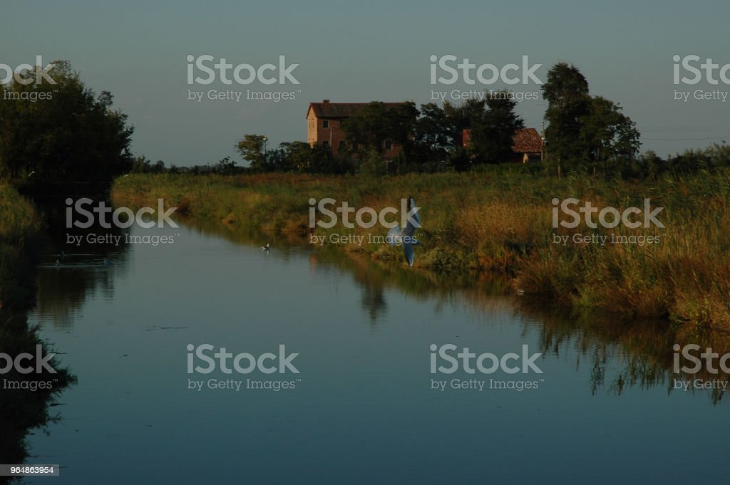Island of Sant'Erasmo Venetian Lagoon royalty-free stock photo