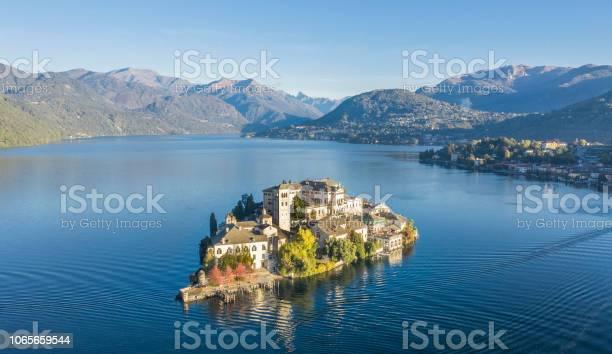 Photo of Island on an italian lake