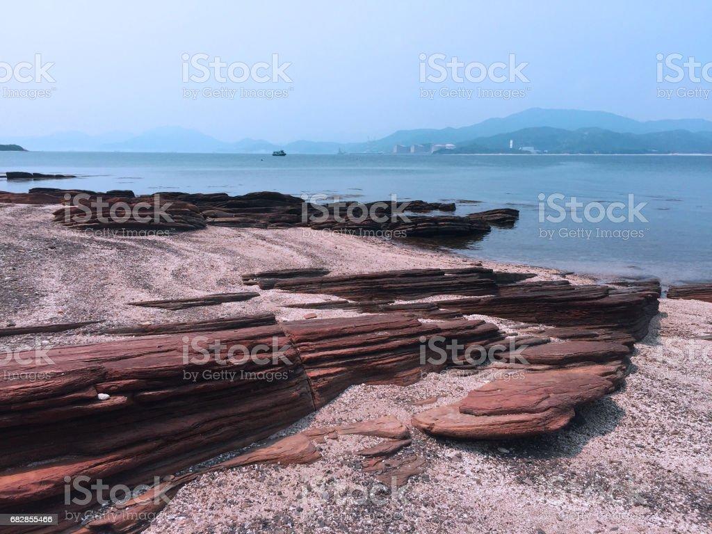 Island on the sea Lizenzfreies stock-foto